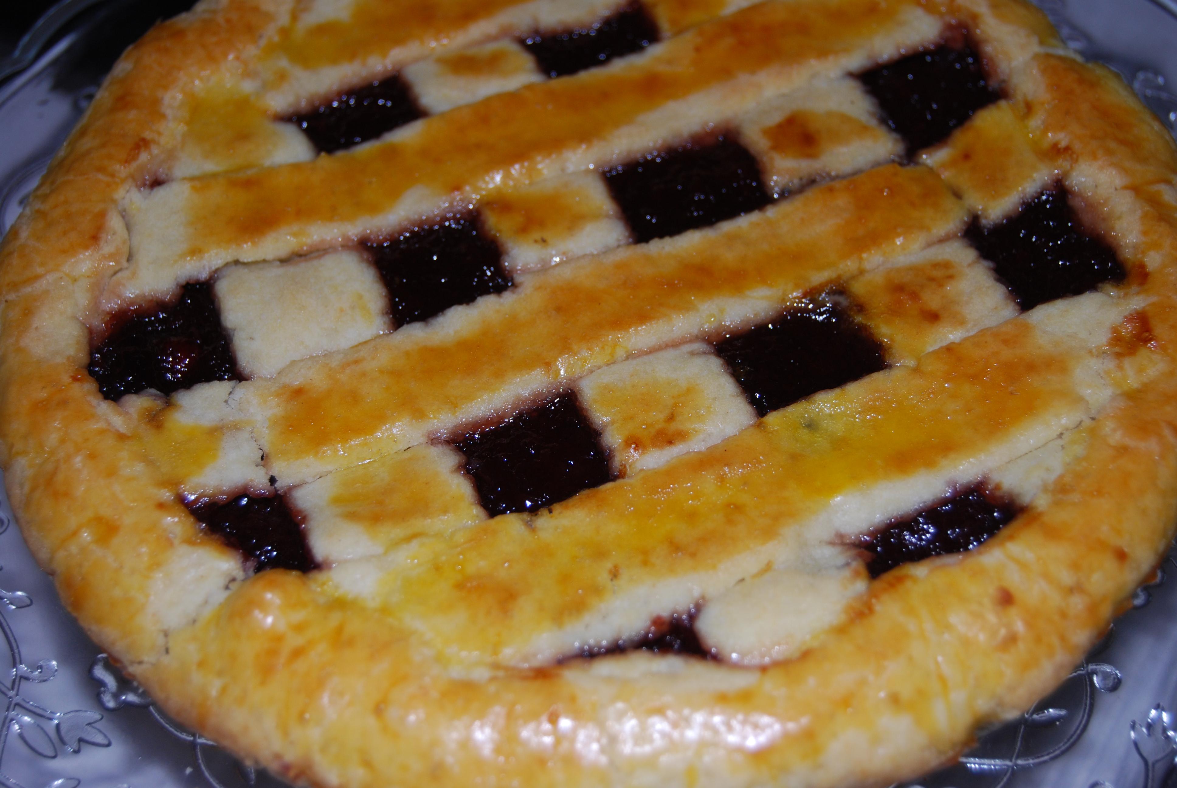Crostata di marmellata di ciliege