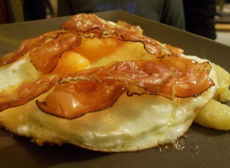 Uova, patate e speck