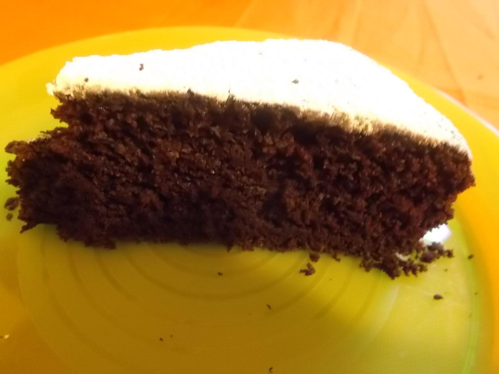 Torta al cioccolato, super light, super veloce