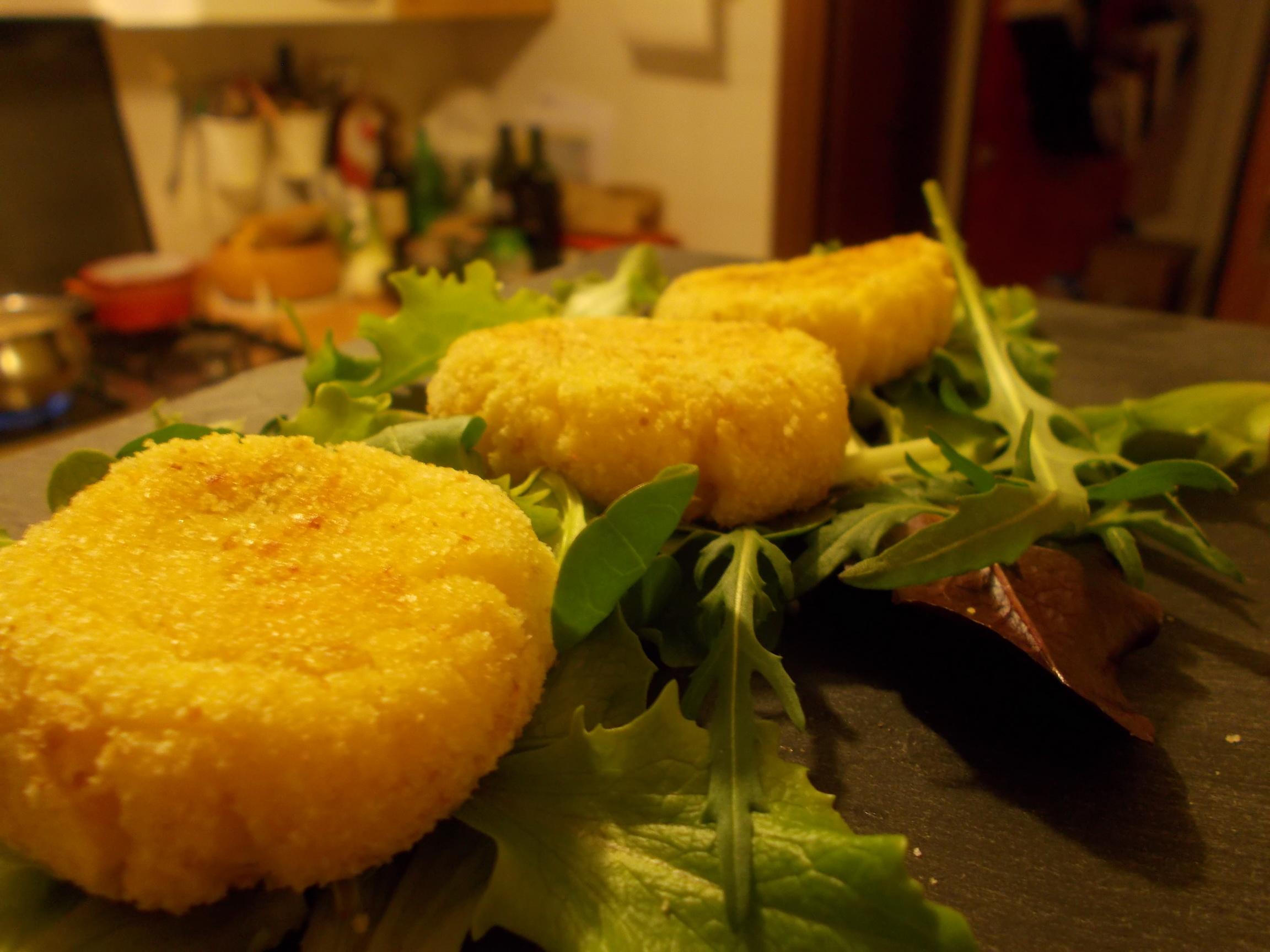 polpettine di patata e ricotta