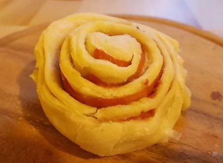 Girelle di pasta al prosciutto e formaggio