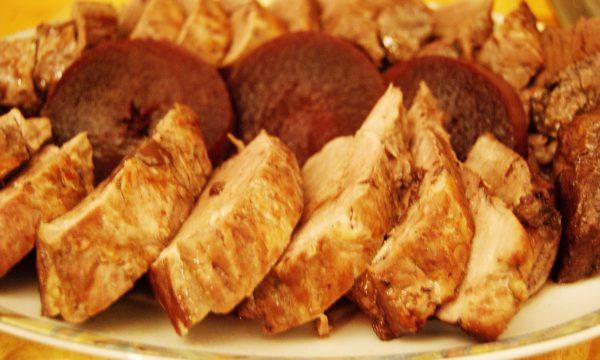 Filetto di maiale con riduzione di vin brulé