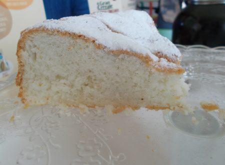 Torta soffice alla vaniglia, gluten free