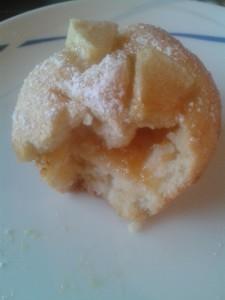 Muffin di mele e marmellata
