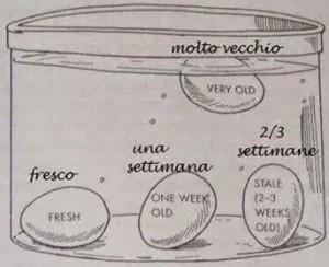 Uovo...dimmi come sei....