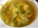 Zuppa patate e verza