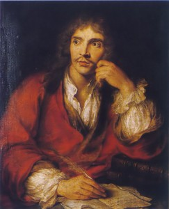 Molière - pseudonimo di Jean-Baptiste Poquelin