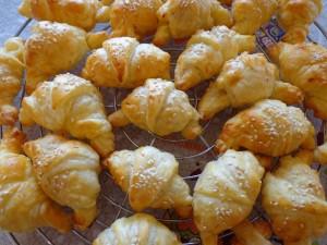 Mini-croissant salati