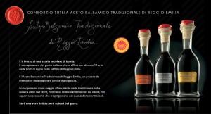 Aceto Balsamico Tradizionale di Reggio Emilia D.O.P. - per la foto si ringrazia