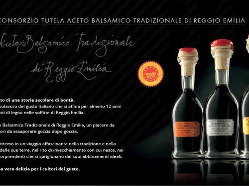 Aceto Balsamico Tradizionale di Reggio Emilia – D.O.P.