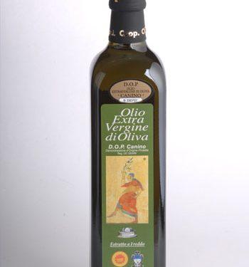 Olio extravergine d'oliva Canino – D.O.P.