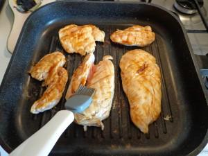 Petto di pollo caramellato