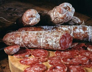 Salame all'aglio della Val Rendena - per la foto si ringrazia