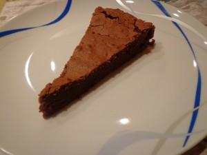 Torta al cioccolato (quasi) senza farina