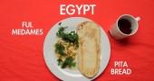 Colazione egiziana - per la foto si ringrazia