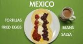 Colazione messicana - per la foto si ringrazia