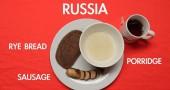 Colazione in Russia - per la foto si ringrazia