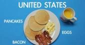 Colazione in U.S.A. - per la foto si ringrazia BuzzFeed