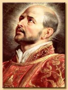 Sant'Ignazio di Loyola - per la foto si ringrazia