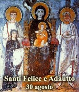Santi Felice ed Aduatto - per la foto si ringrazia