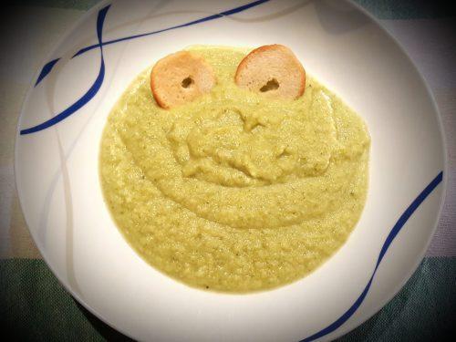 Crema di ceci e broccoli