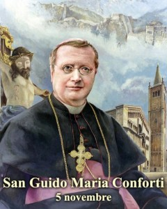 San Guido Maria Conforti - per la foto si ringrazia