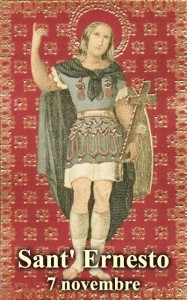 Sant'Ernesto di Zwiefalten - per la foto si ringrazia