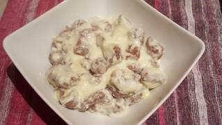 Gnocchi di castagne con fonduta di Raschera D.O.P.
