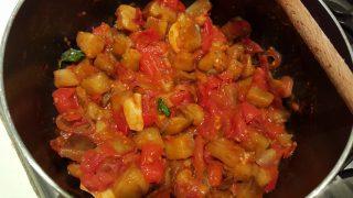 Melanzane a funghetto - versione light