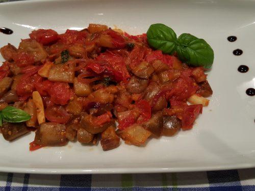 Melanzane a funghetto (ricetta light)