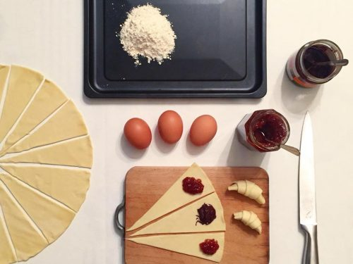 Mini croissant by Alessandro Cappellero