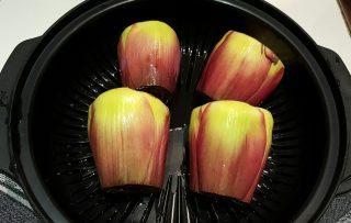 Insalata di carciofi, patate e peperoni
