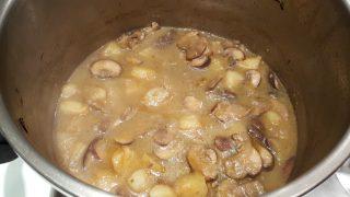 Crema di funghi e patate