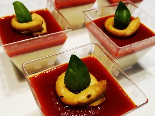 Panna cotta salata al Parmigiano