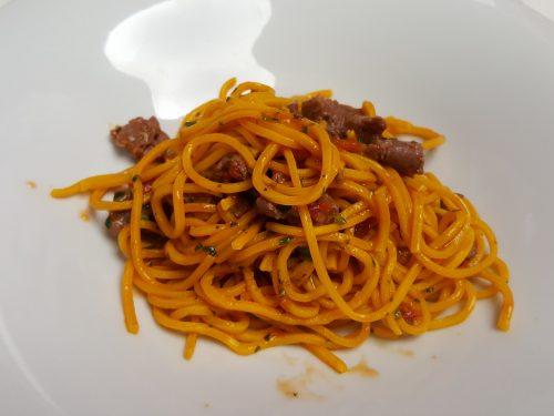 "I ""tajarin"" alla salsiccia di Bra"