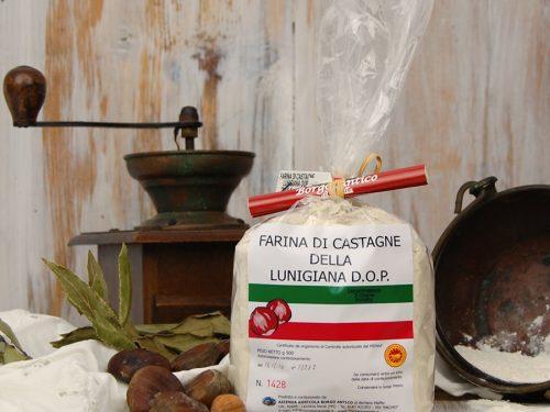 Farina di castagna della Lunigiana – D.O.P.