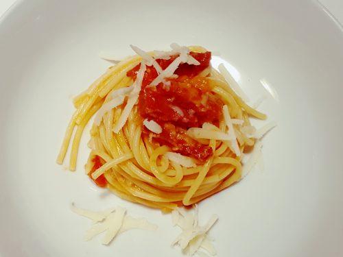 Spaghetti alla bersagliera