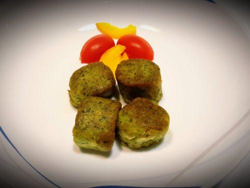 Polpette vegetariane di zucchine e feta