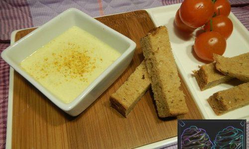 Salsa di Yogurt  Mandorle e Curry