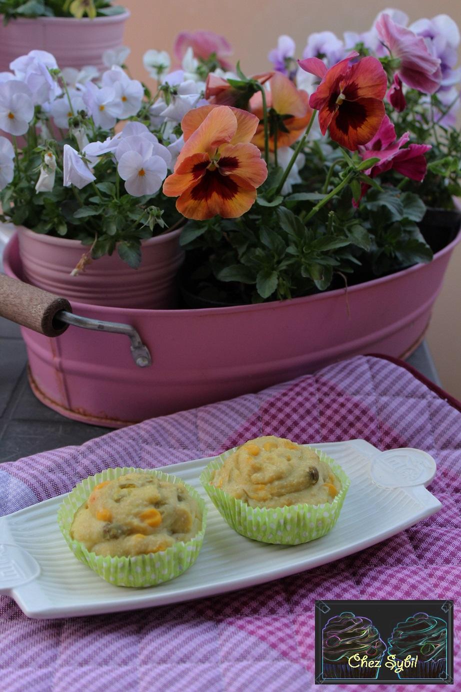 Muffins di Pure' con Mais e Piselli