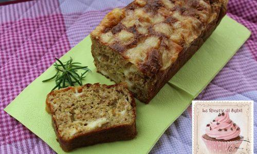 Plumcake al Farro e Zucchine con Bitto