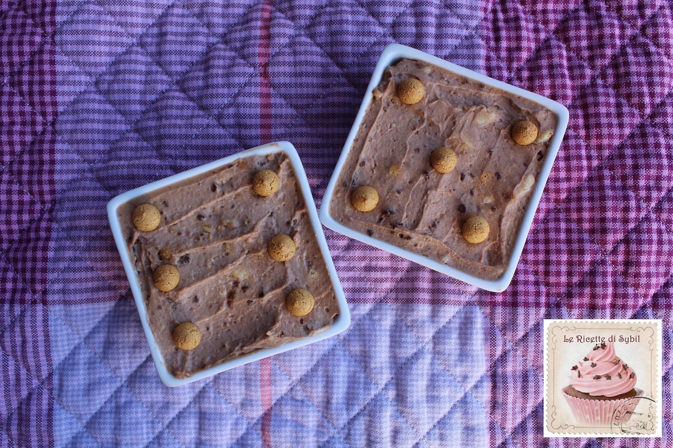 Coppette di Cheesecake con Amaretti e Nutella
