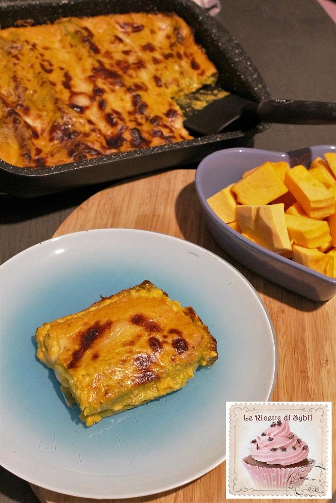 Lasagne Verdi con Zucca e Bra Tenero