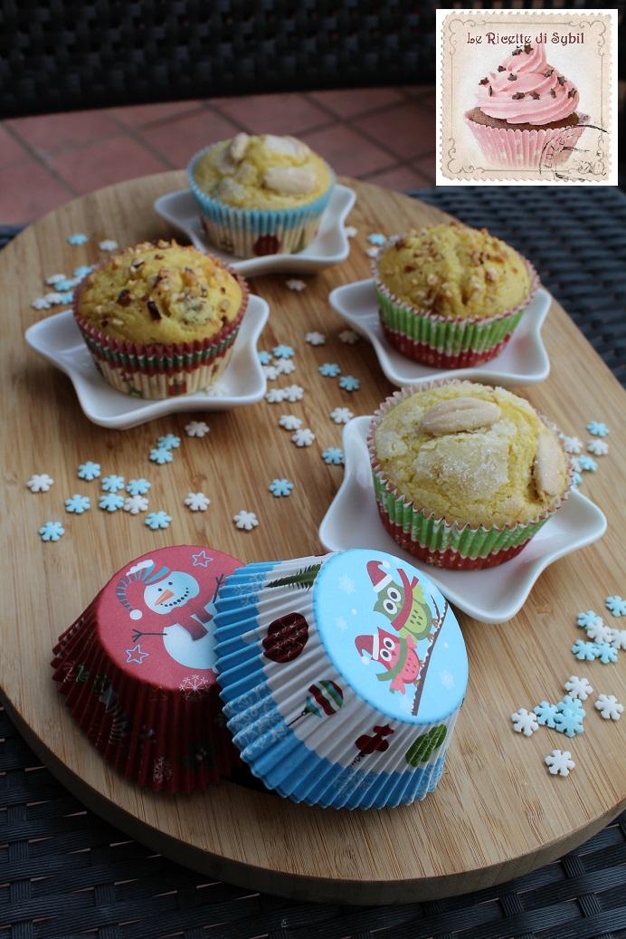 Mini Panettoni di Muffins con Uvetta