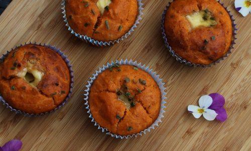 Muffins al Prosciutto Crudo e Pomodoro