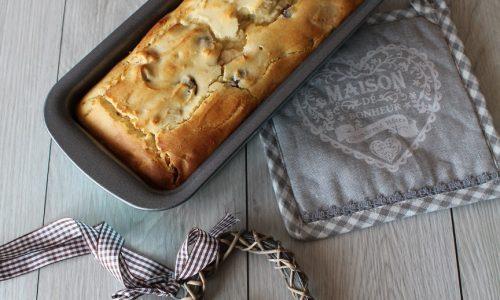 Plumcake con Mele al Latte e Uvetta (senza glutine)