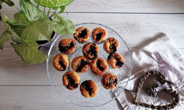 Muffins con Confettura di Ciliegie
