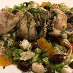 Insalata di polipo con verdure