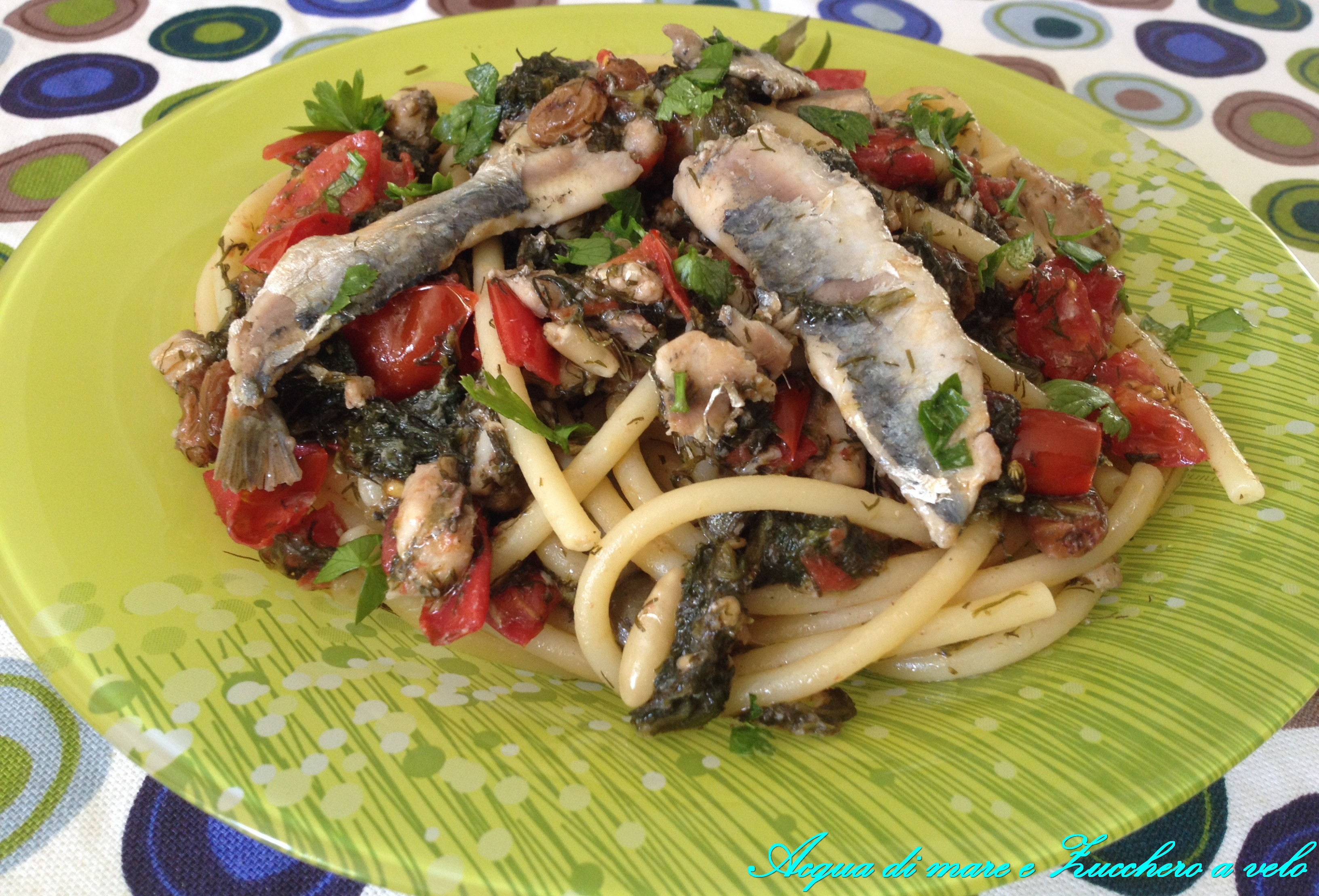 Pasta Con Le Sarde - Pasta With Sardines Recipes — Dishmaps