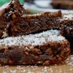 Brownies alla Nutella e cocco
